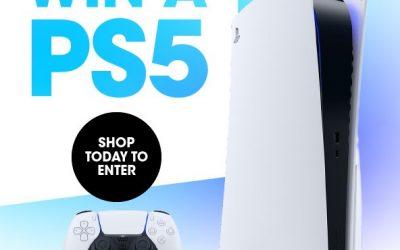 WIN a SONY PlayStation 5
