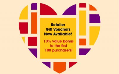 Retailer Gift Vouchers NOW AVAILABLE!